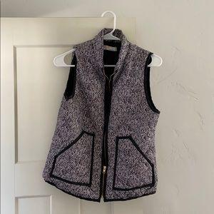 Houndstooth vest